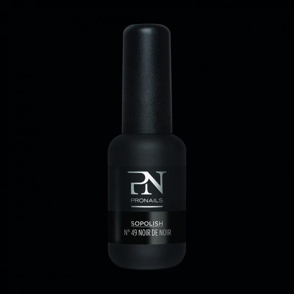Hybrydowy lakier do paznokci Sopolish 49 Noir de noir